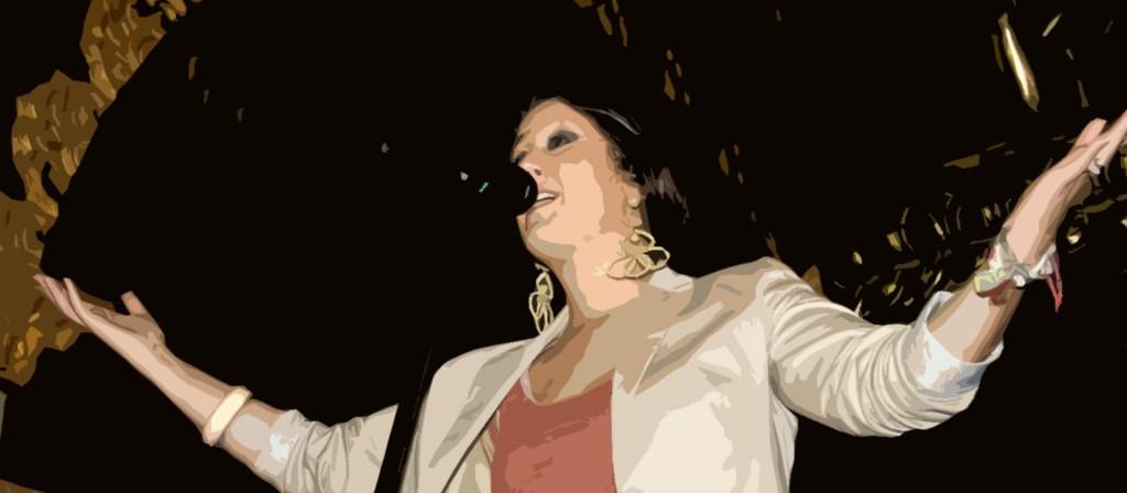 Actuación Flamenca: Lidia Hernández.