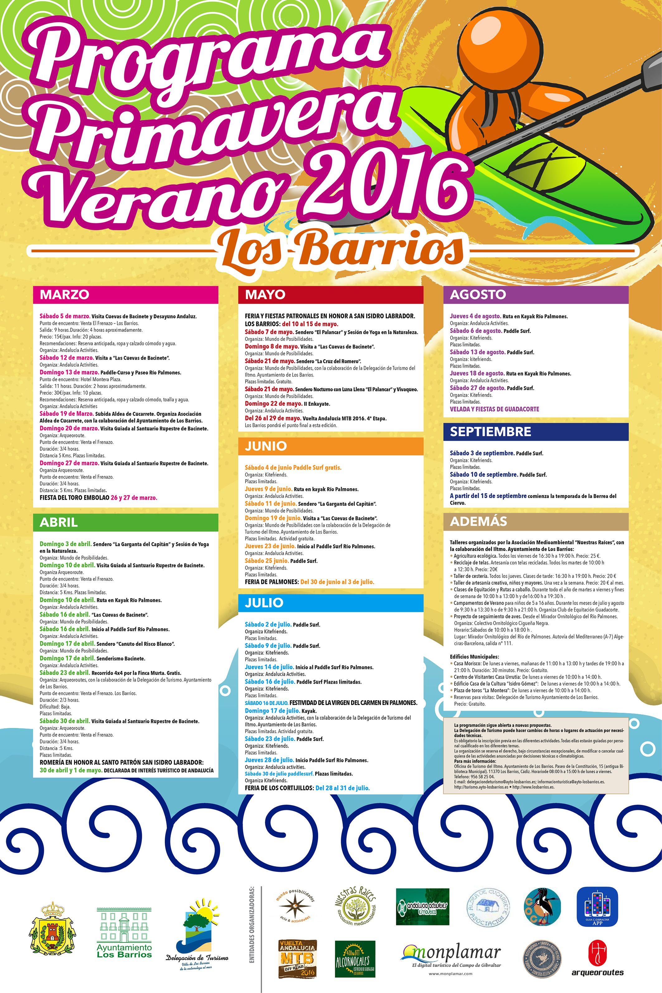 Ya podéis disfrutar de nuestra programación Primavera-Verano 2016