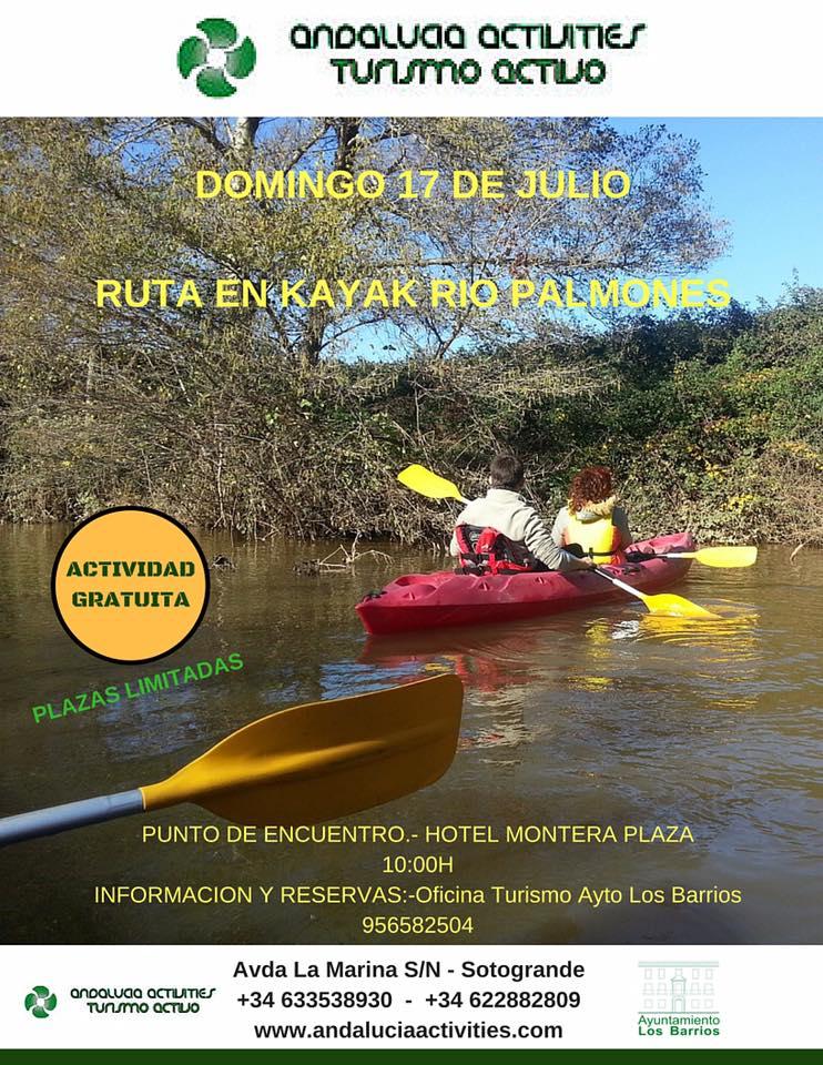 Domingo 17 Julio kayak Gratisssss!!!!