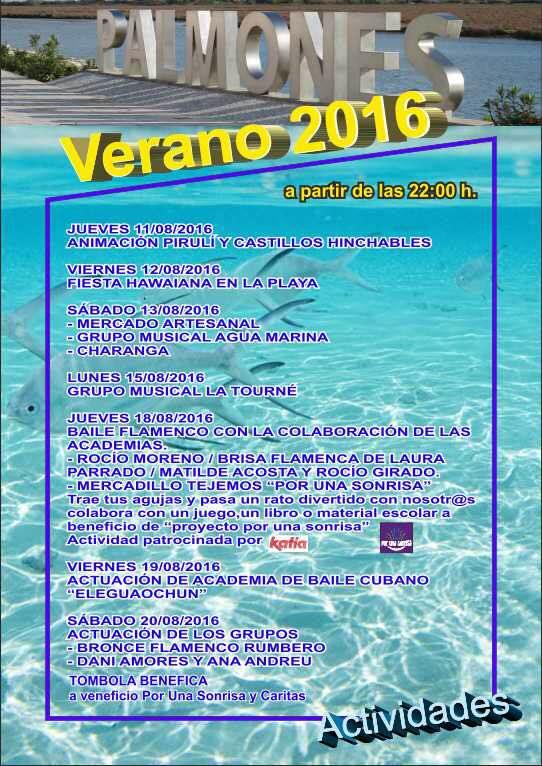 VERANO 2016 Palmones