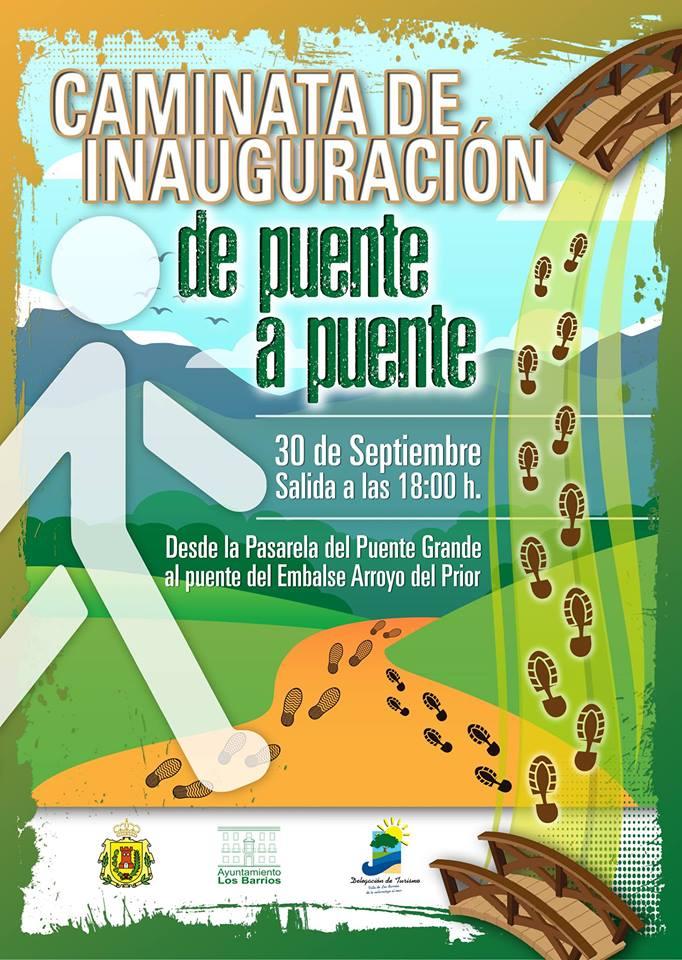 Caminata Inaugural de Puente a Puente 30 de septiembre