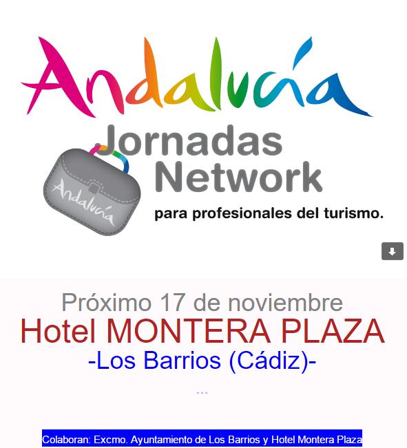 "Jornadas ""Andalucía Network"" , proximo 17 de Noviembre"