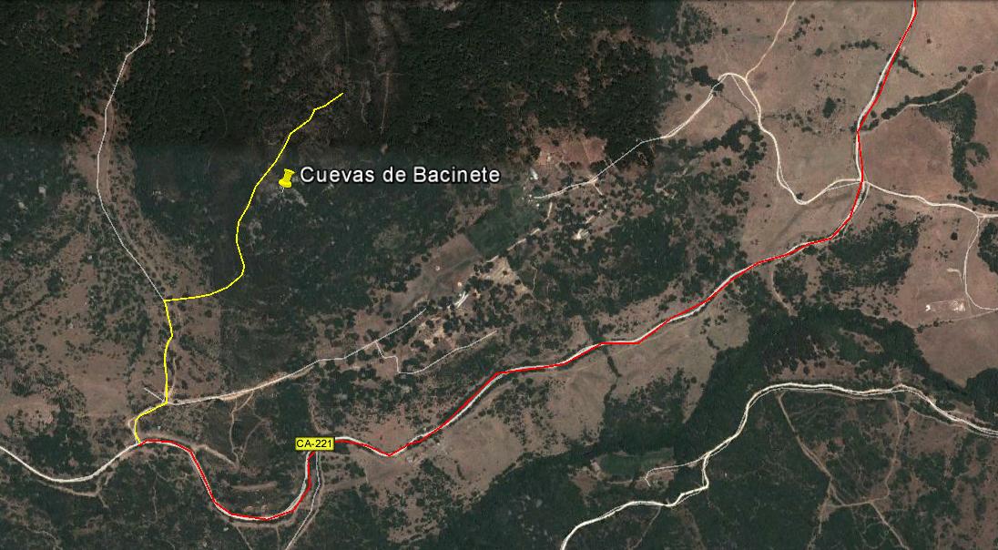 Nueva visita a las cuevas de Bacinete el próximo día 20