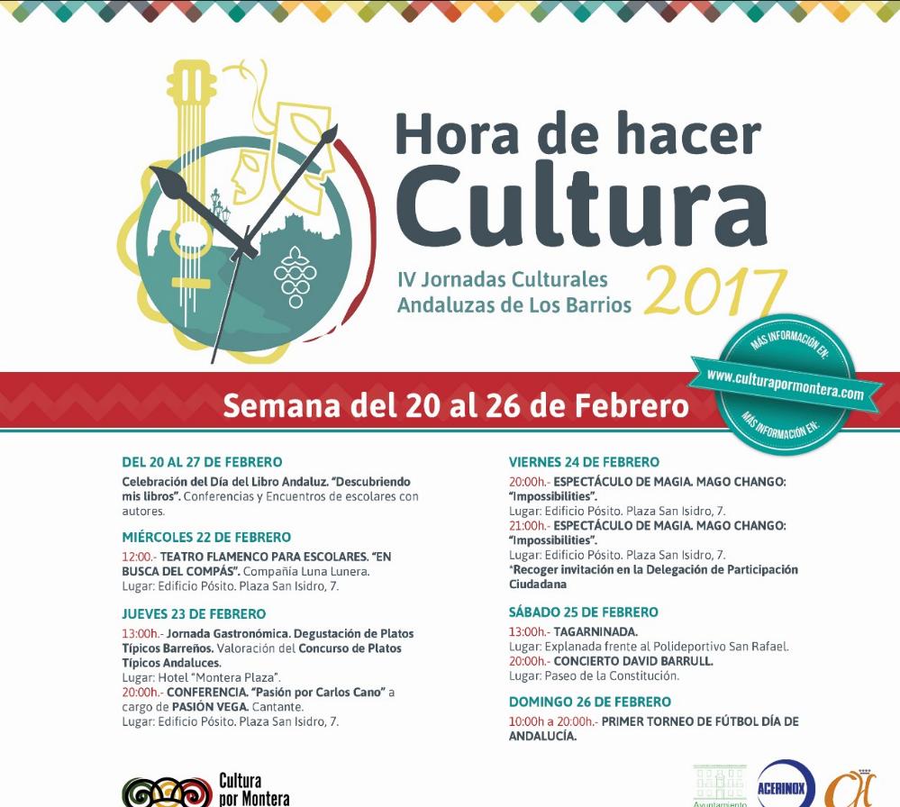 Teatro flamenco, jornada gastronómica y magia entre la programación del 20 al 26 de febrero