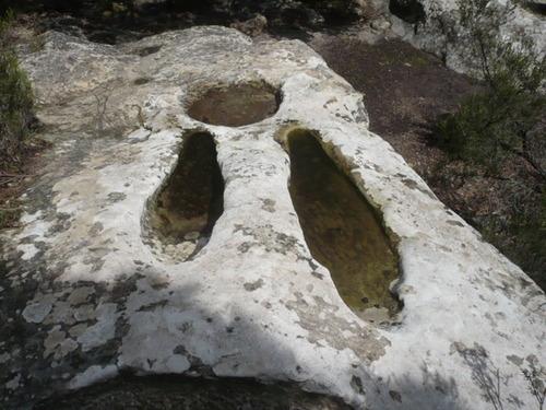 El domingo 26, nueva visita a las Cuevas de Bacinete para conocer sus pinturas rupestres