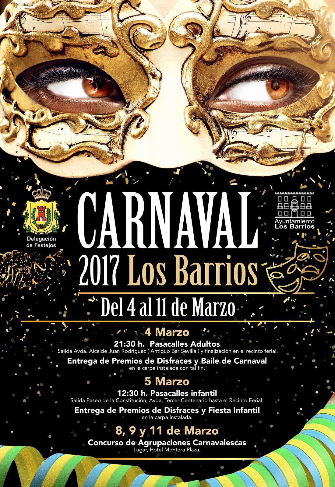 Carnaval en Los Barrios, del 4 al 11 de marzo