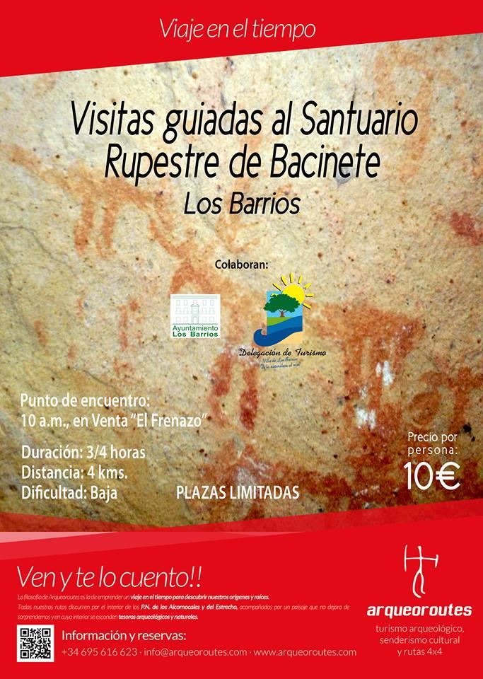 Visita a las cuevas de Bacinete el domingo 30 de abril
