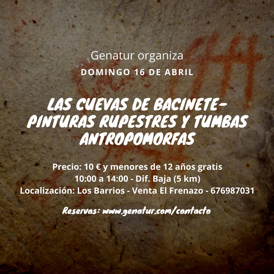 Visita a Bacinete el domingo 16 de abril con Mundoposibilidades