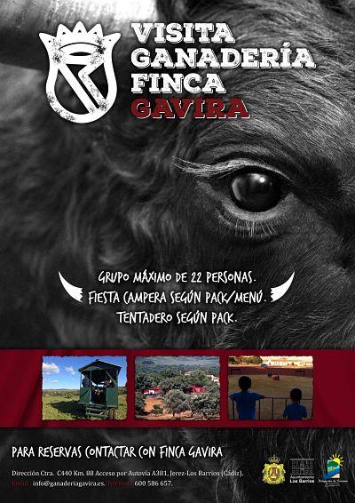 Arrancan las visitas a la ganadería de Gavira