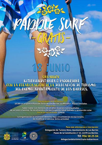 Paddle Surf los días 18 y 25 de junio