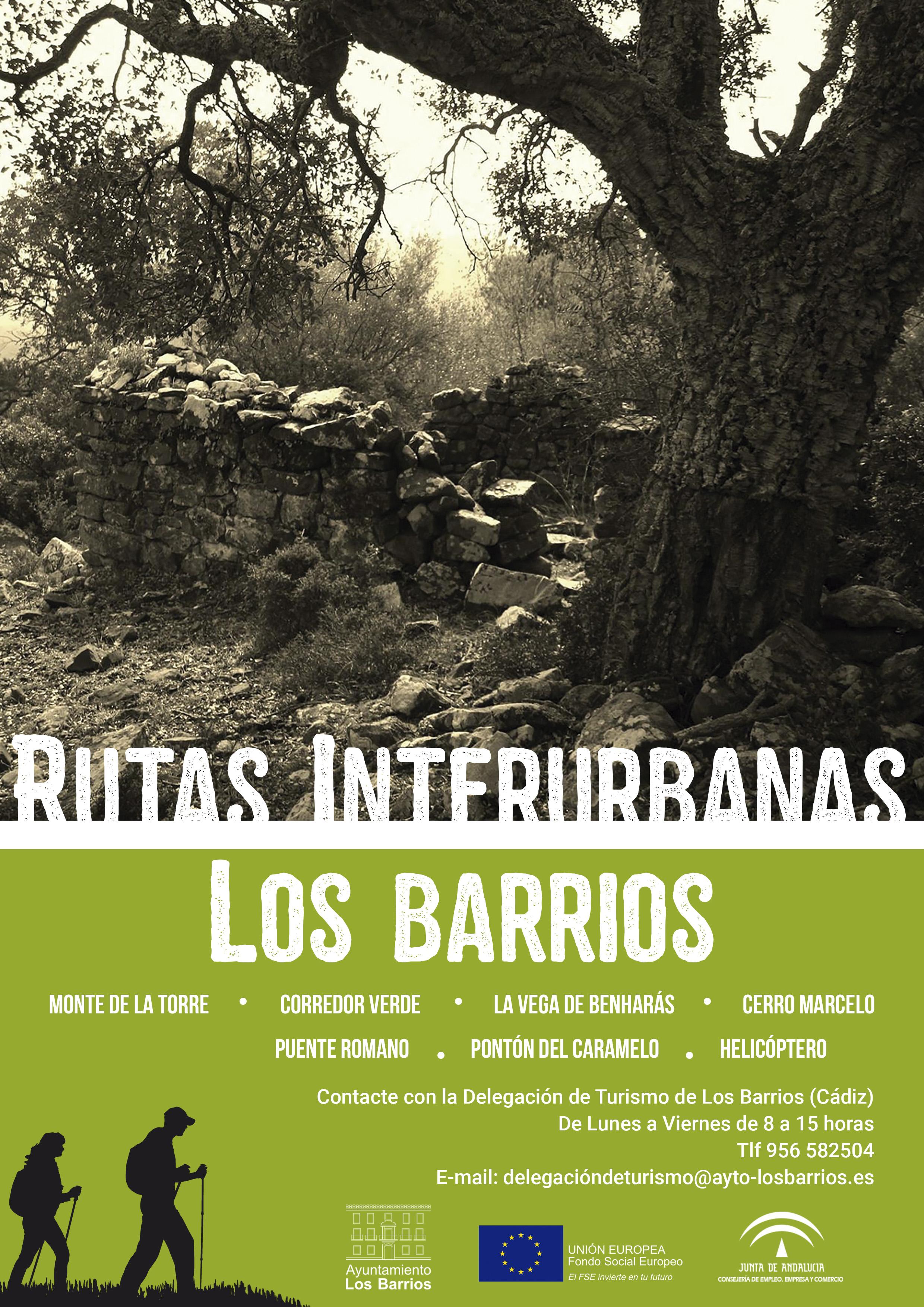 Oferta turística de rutas interurbanas en Los Barrios