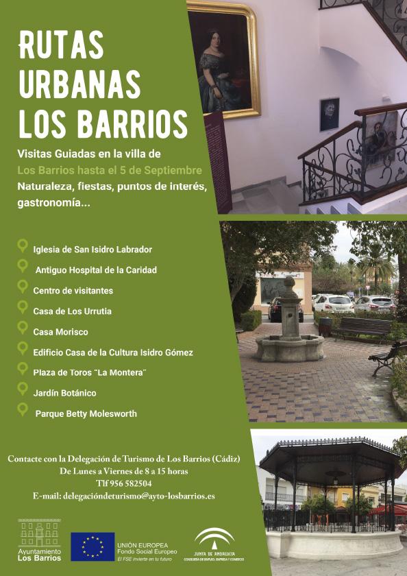Ruta urbana guiada por Los Barrios hasta el 5 de septiembre