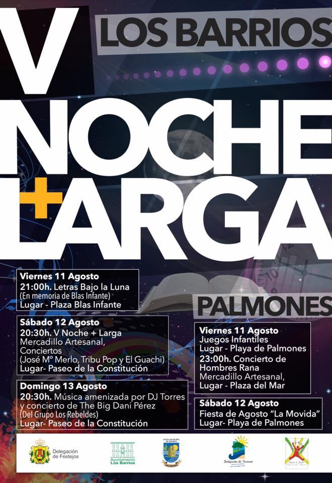 """Llega la V """"Noche + Larga"""" a Los Barrios"""