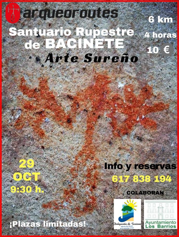 VISITA GUIADA AL SANTUARIO RUPESTRE DE BACINETE (LOS BARRIOS) DOMINGO 29 DE OCTUBRE