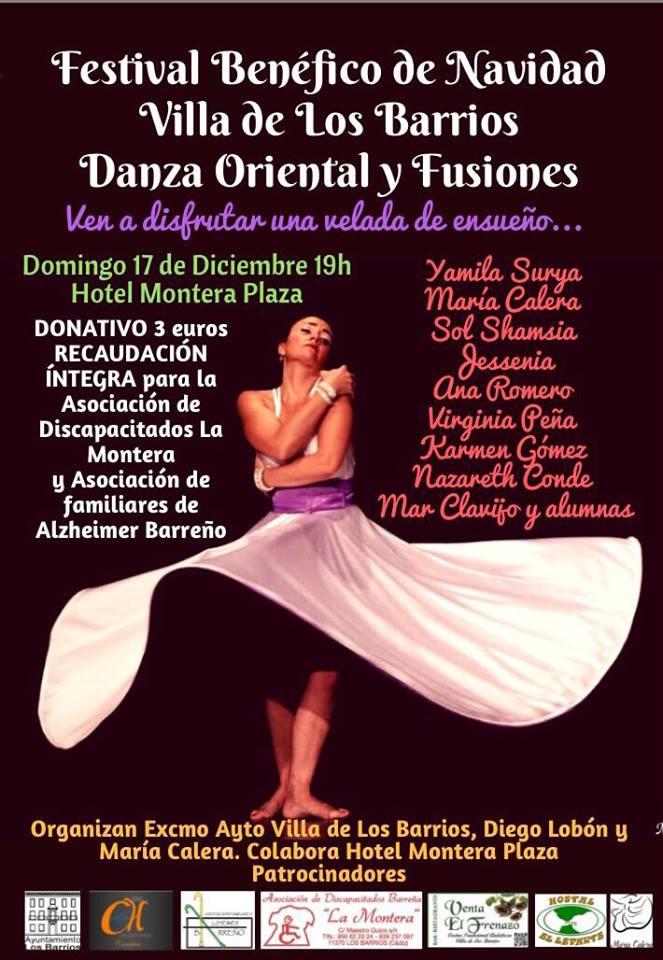 Festival Benéfico de Navidad Danza Oriental y Fusiones el 17 de diciembre