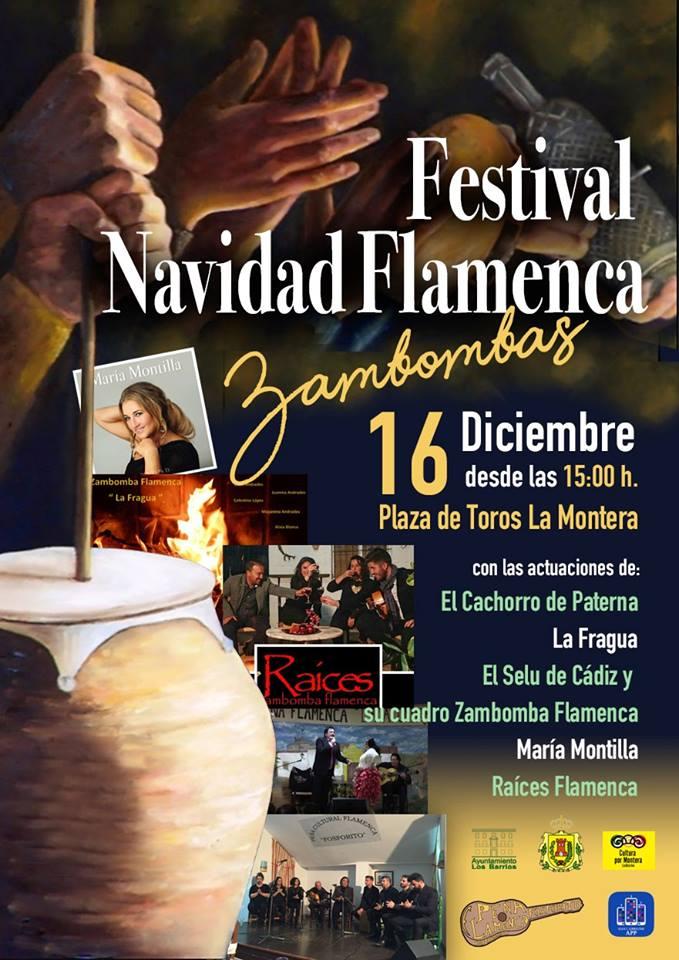 Festival Navidad Flamenca en Los Barrios el 16 de diciembre