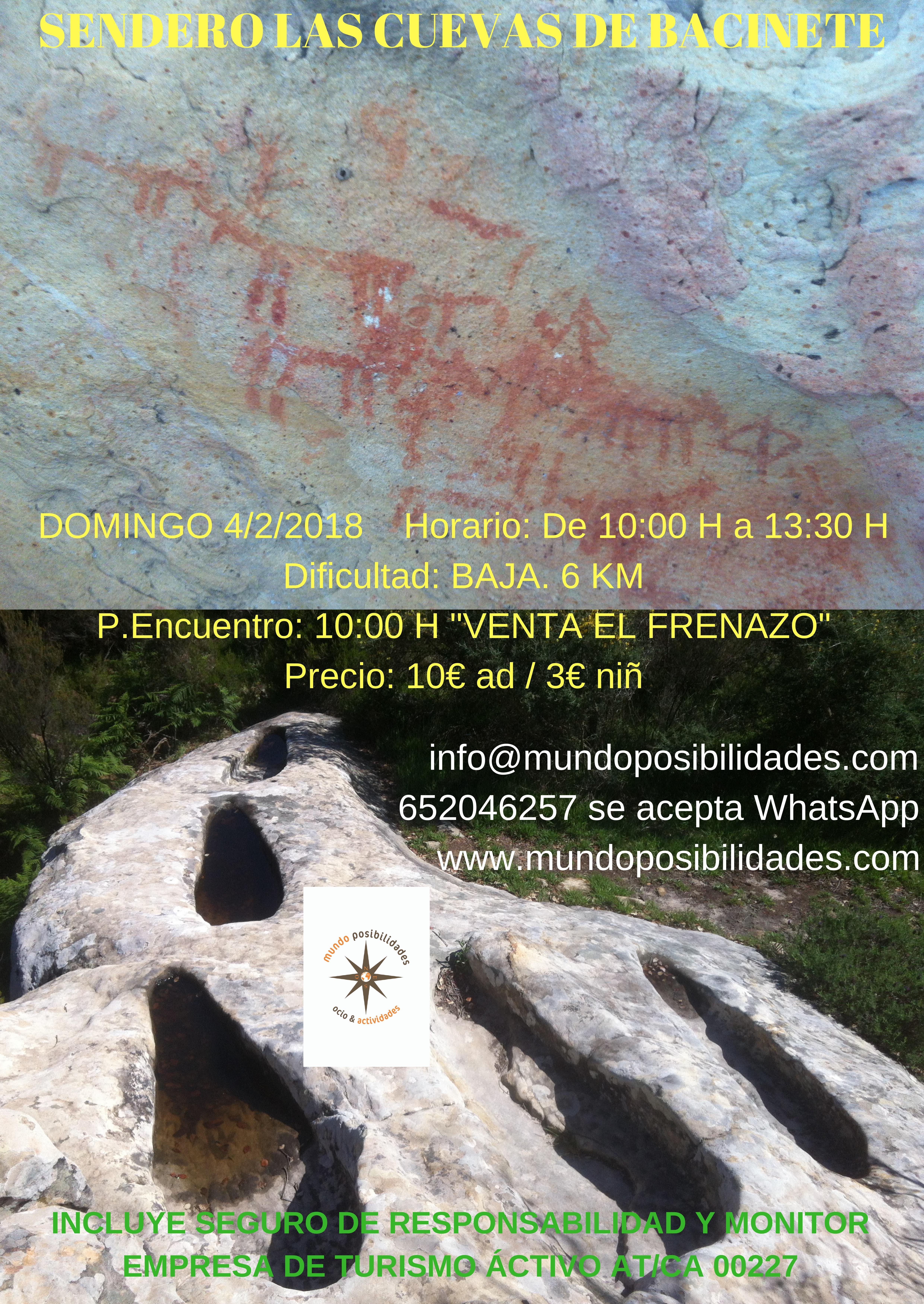 Las Cuevas de Bacinete el 4 de febrero
