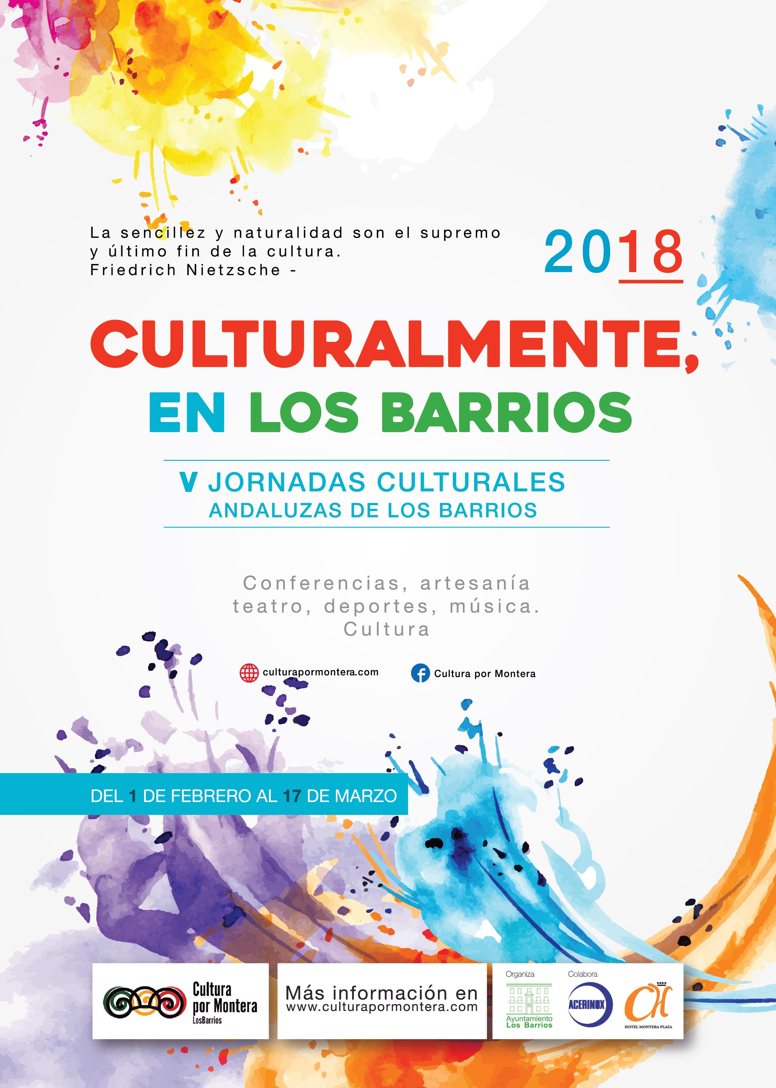 Las V Jornadas Culturales Andaluzas de Los Barrios ya están aqui