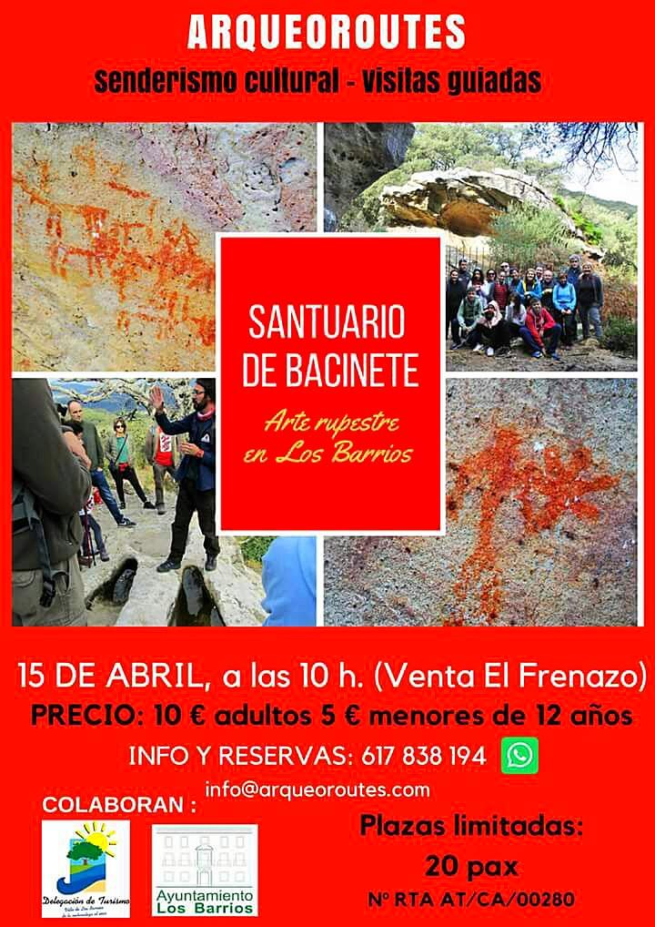 El domingo 15 abril, visita guiada a Bacinete