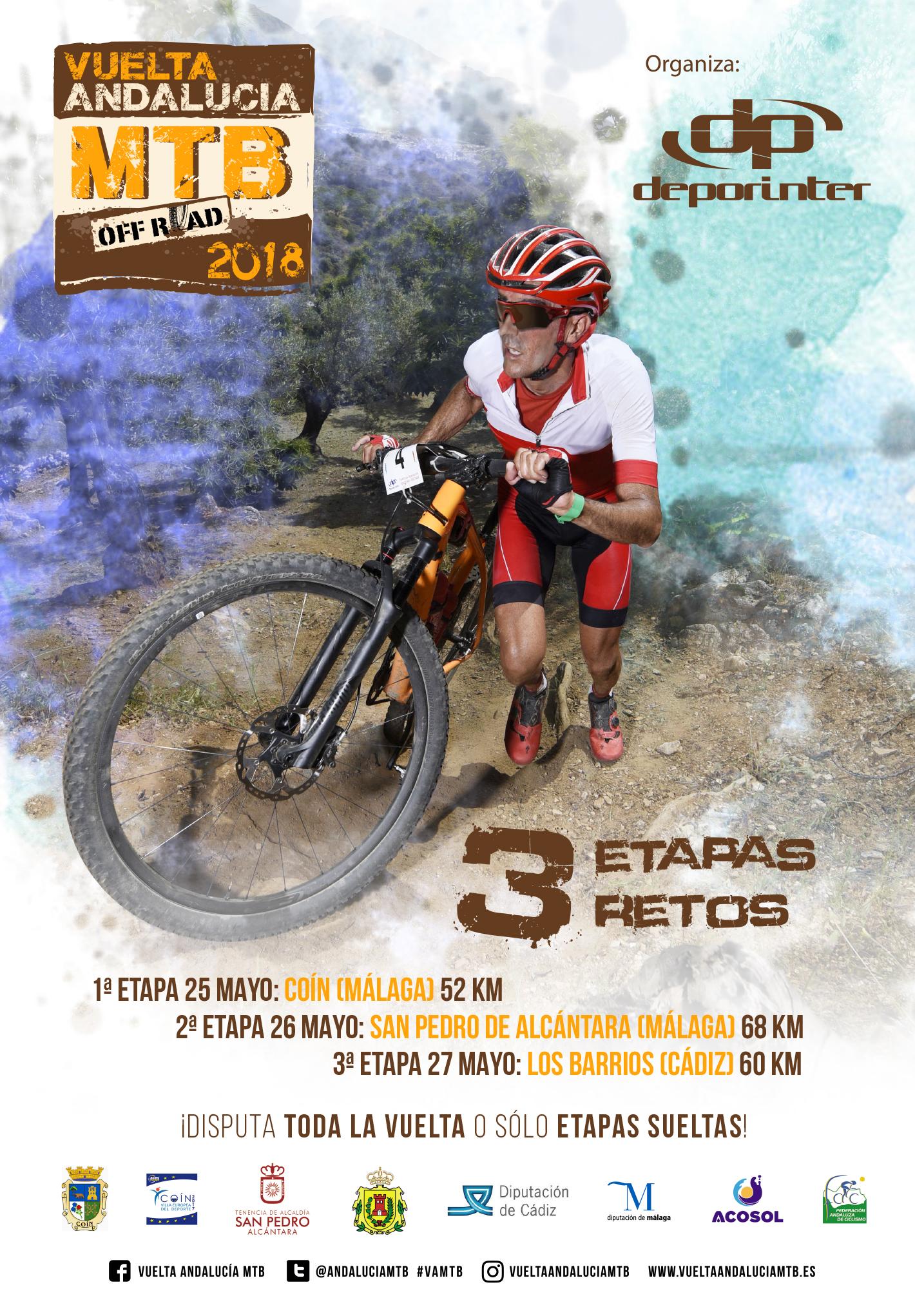 Los Barrios será protagonista en la última etapa de la Vuelta Andalucía de Bicicleta de Montaña 2018