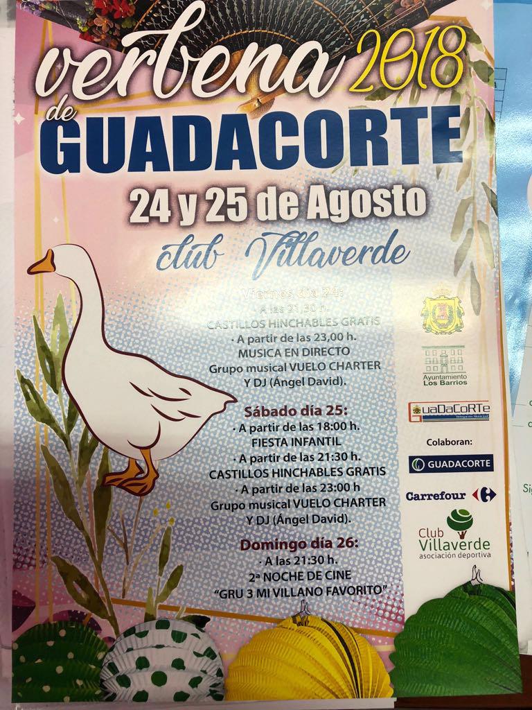 Fiestas infantiles y música en directo este fin de semana en la Verbena de Guadacorte
