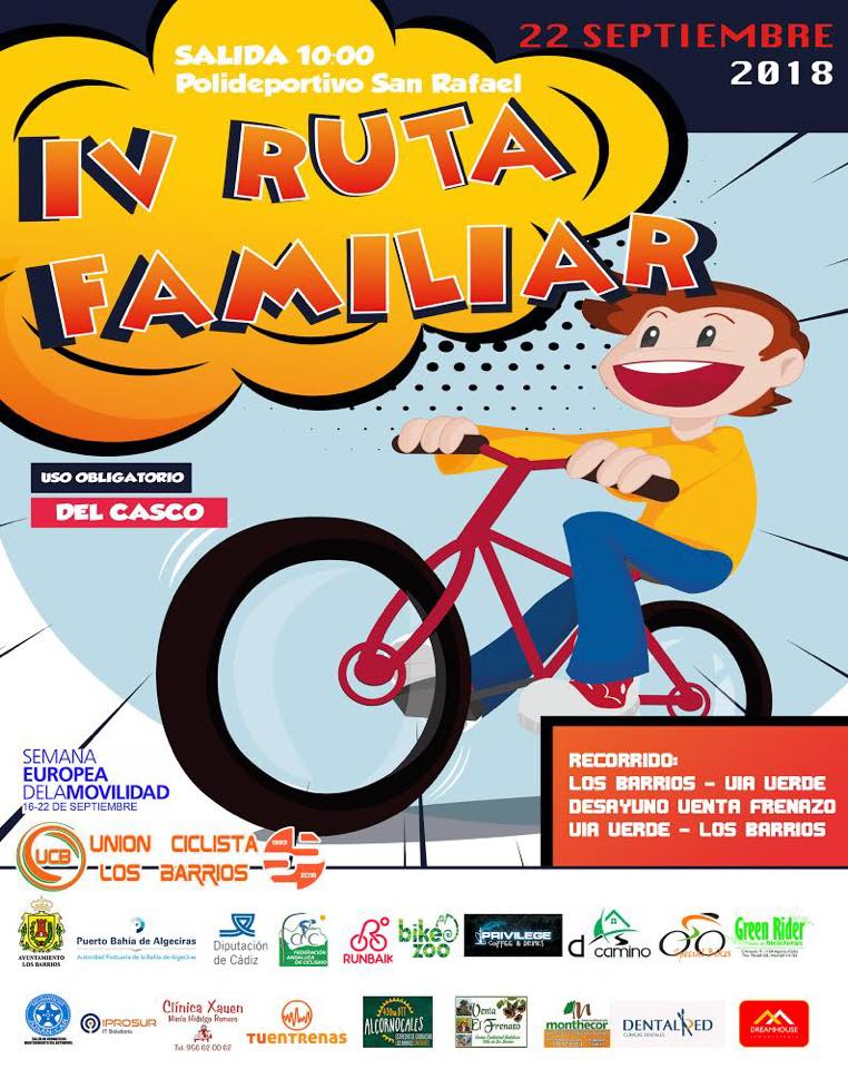 IV Ruta Familiar en Bicicleta