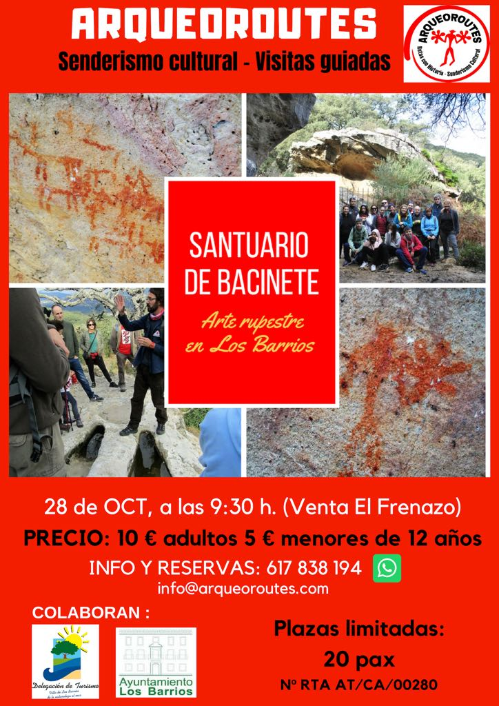 28 de octubre visita guiada a Bacinete