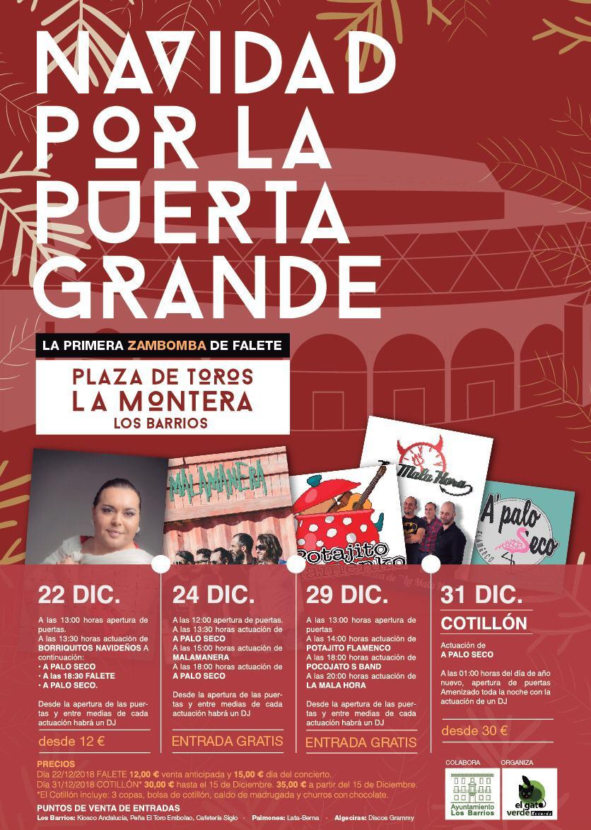 Programación navideña 2019 en Los Barrios