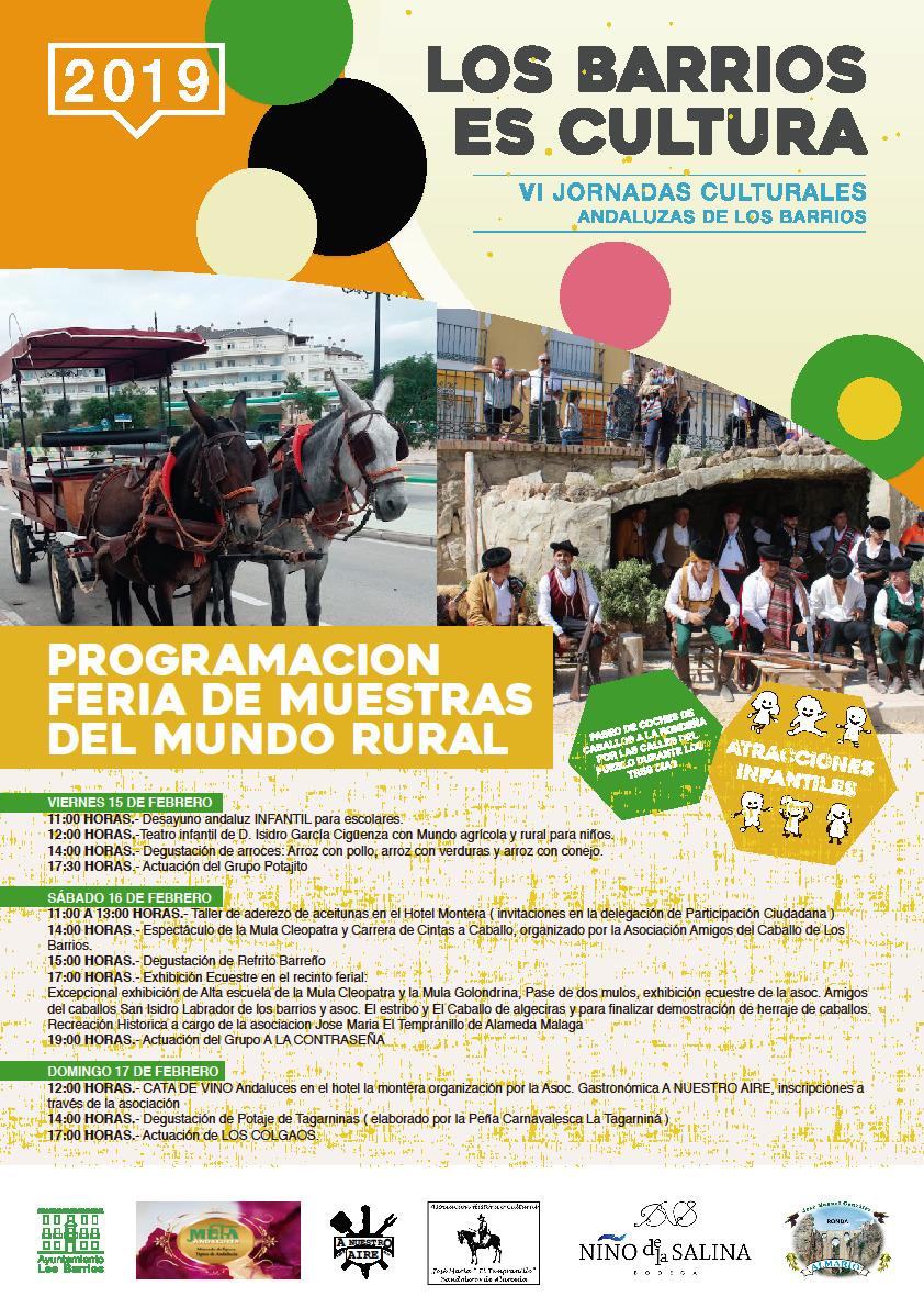 Feria de muestras del mundo rural en Los Barrios
