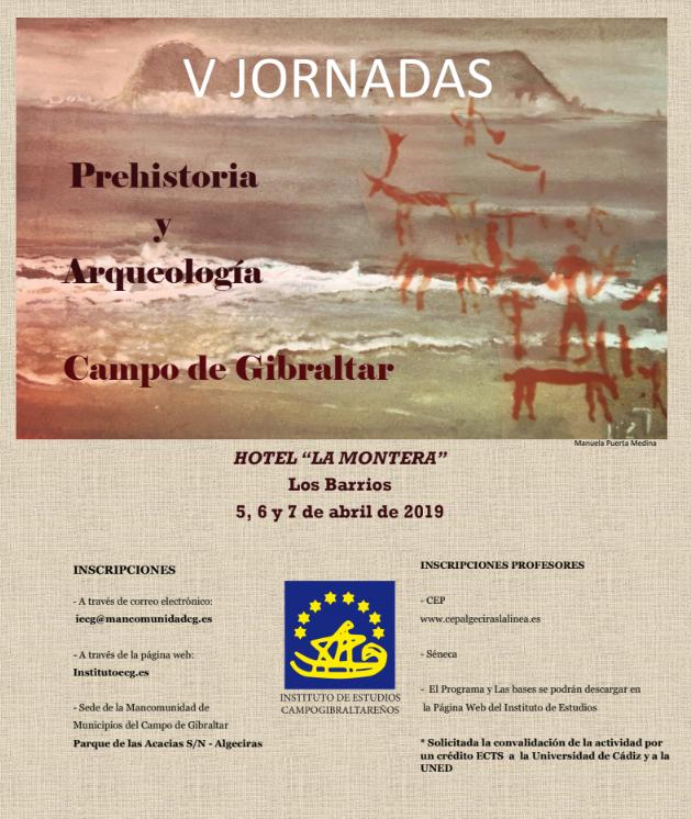 V Jornadas Prehistoria y Arqueología del Campo de Gibraltar