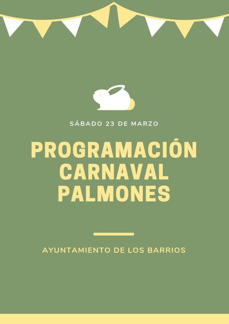 Programación Carnaval Palmones 2019