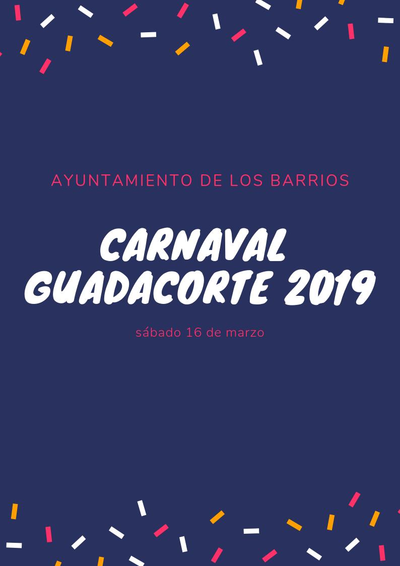 Programación Carnaval Guadacorte 2019