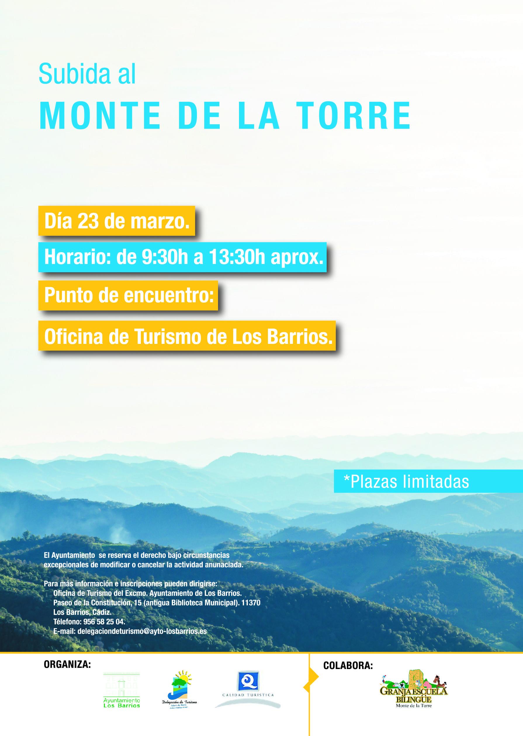 Sábado 23 de Marzo, subida al Monte de la Torre