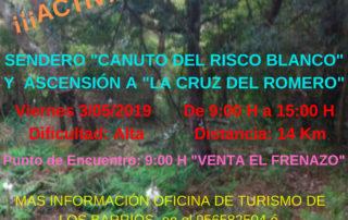 """Sendero """"Canuto del risco blanco"""" y ascensión a """"La criz del romero"""""""