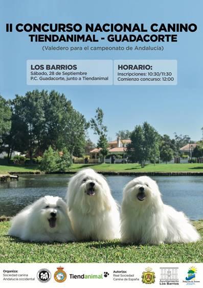II Concurso Nacional Canino Tiendanimal – Guadacorte