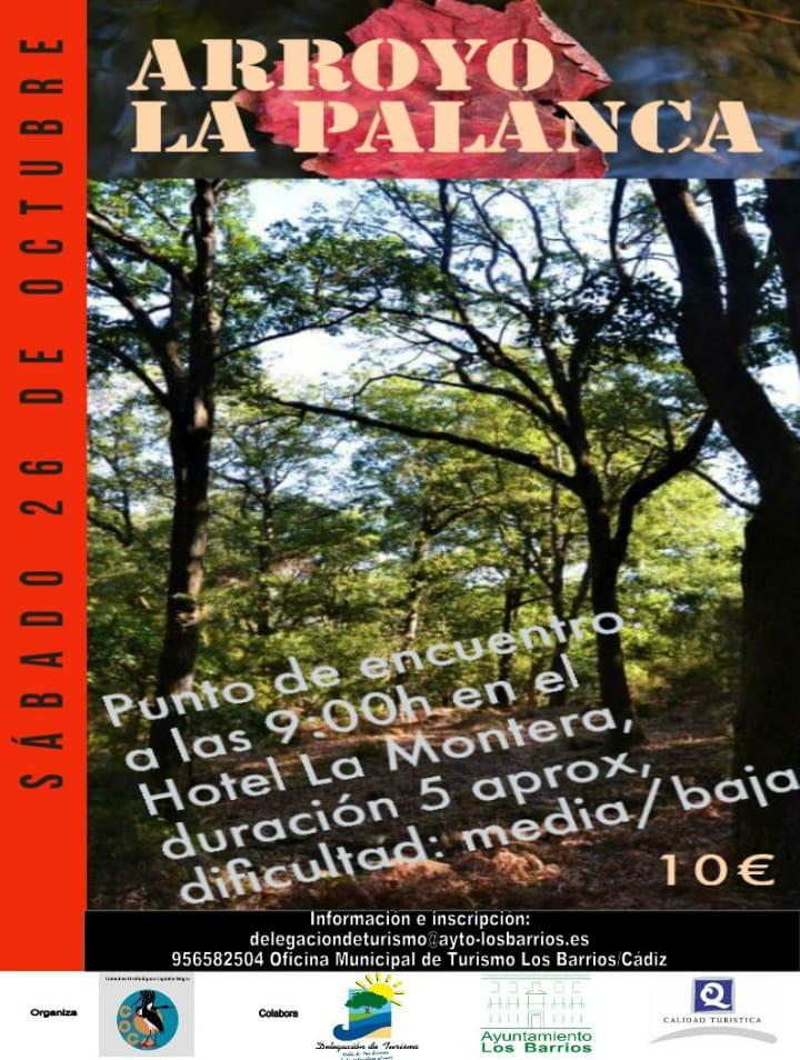 Ruta La Palanca que tendrá lugar el día 26 de octubre