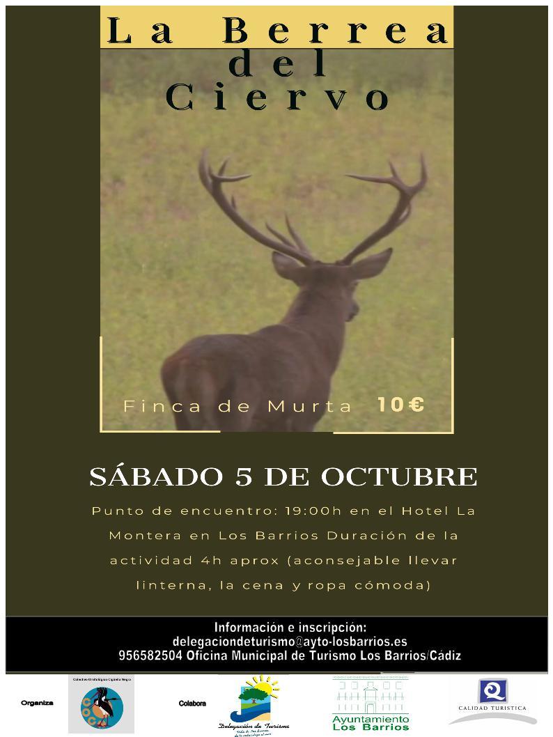 La Berrea del Ciervo 5 de octubre de 2019