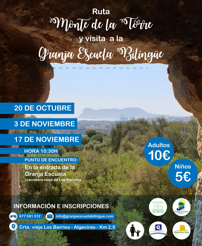Rutas Monte de la Torre y Visita Granja Escuela Bilingüe