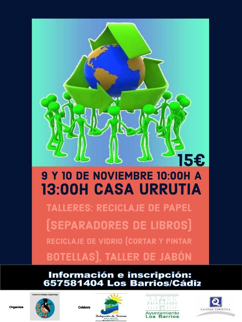 Talleres de Reciclaje – 9-10 de Noviembre