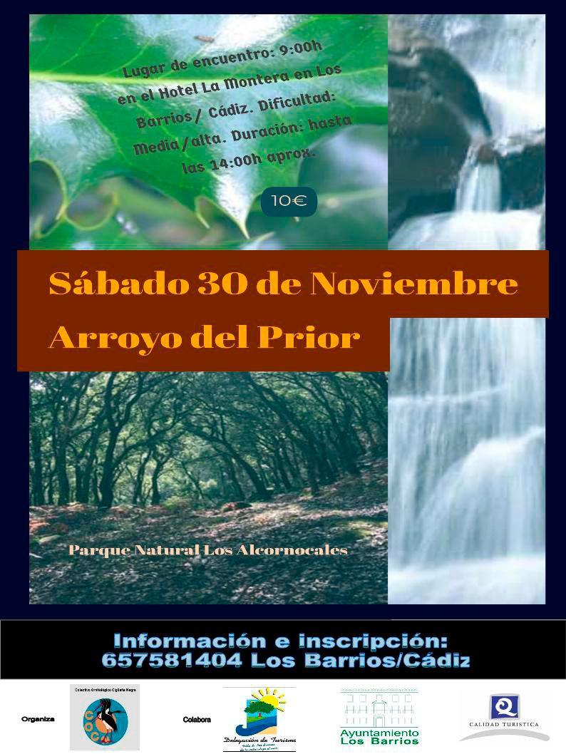 Arroyo del Prior-Sábado 30 de noviembre