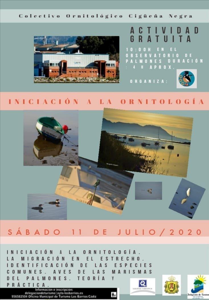 Iniciación a la Ornitología – Sábado 11 de Julio