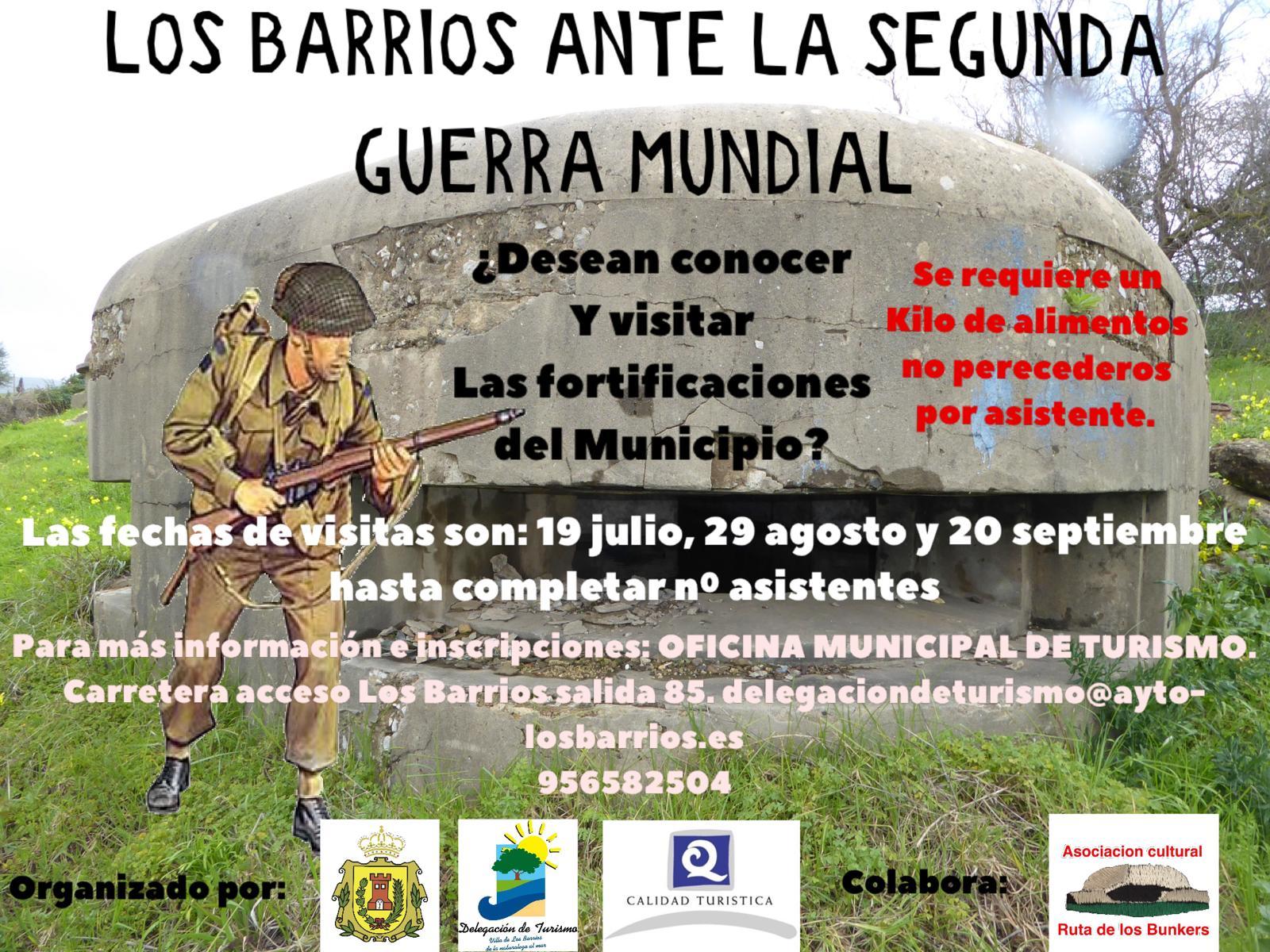 Los Barrios ante la II Guerra Mundial – 19 Julio, 29 Agosto y 20 Septiembre