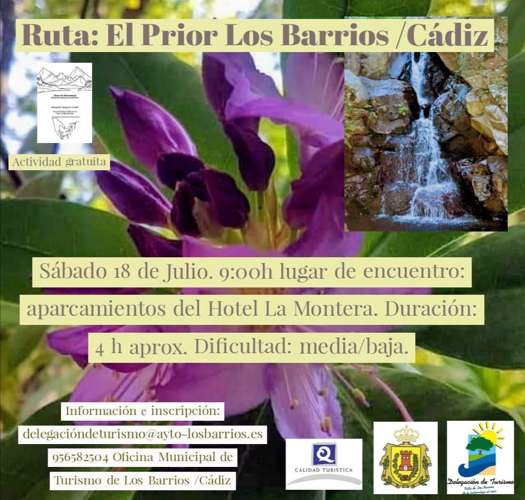 Ruta: El Pior, Los Barrios – Sábado 18 de Julio