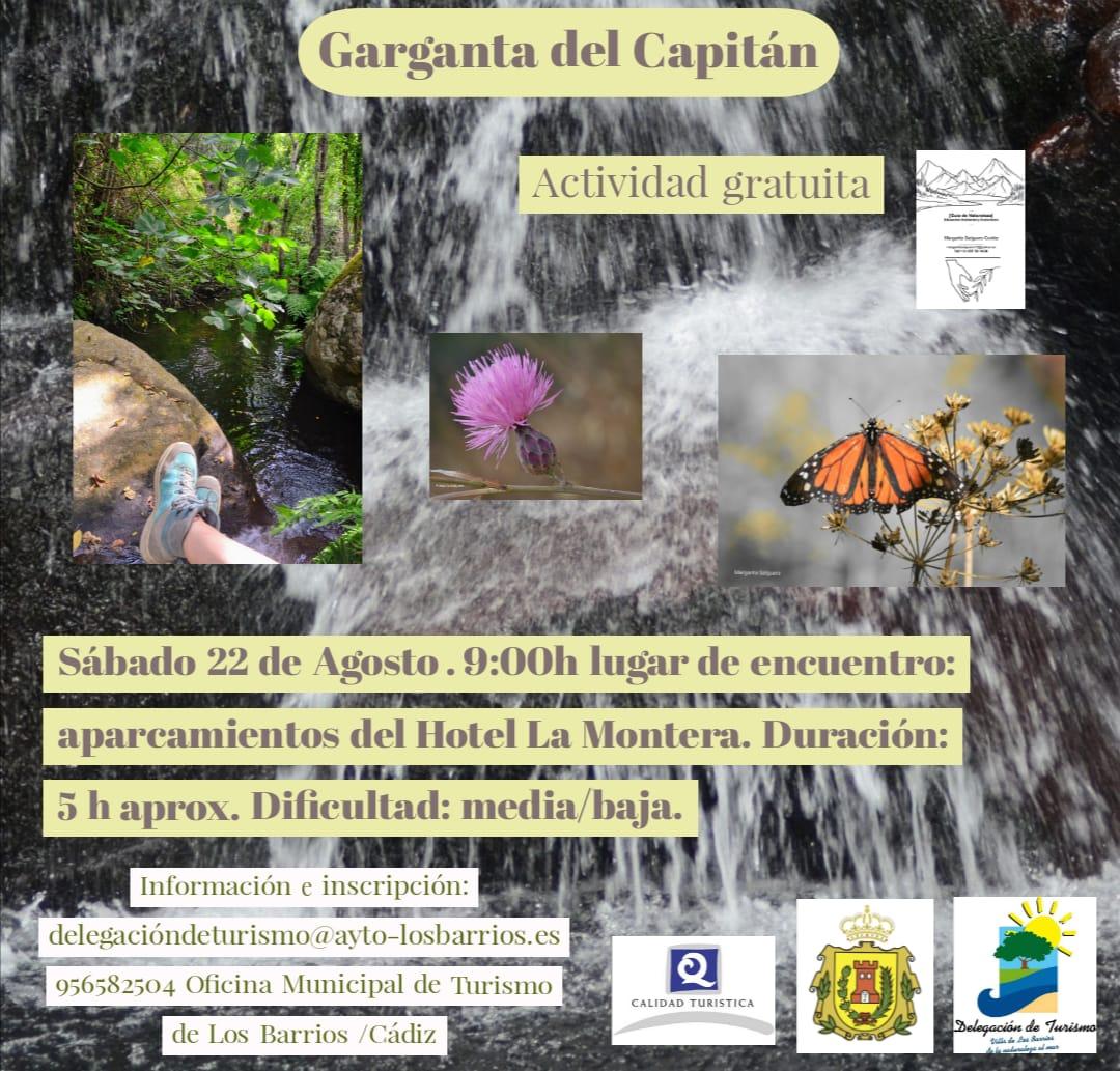 RUTA GARGANTA DEL CAPITÁN – Sábado 22 de Agosto