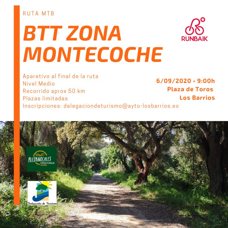 Ruta BTT zona Montecoche – 6 de Septiembre