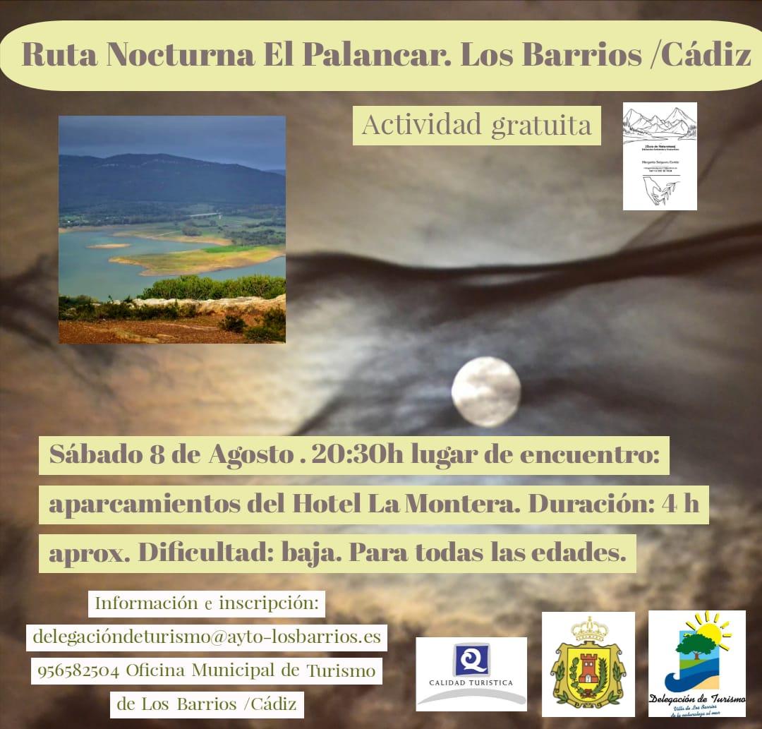 Ruta nocturna El Palancar – Sábado 8 de Agosto