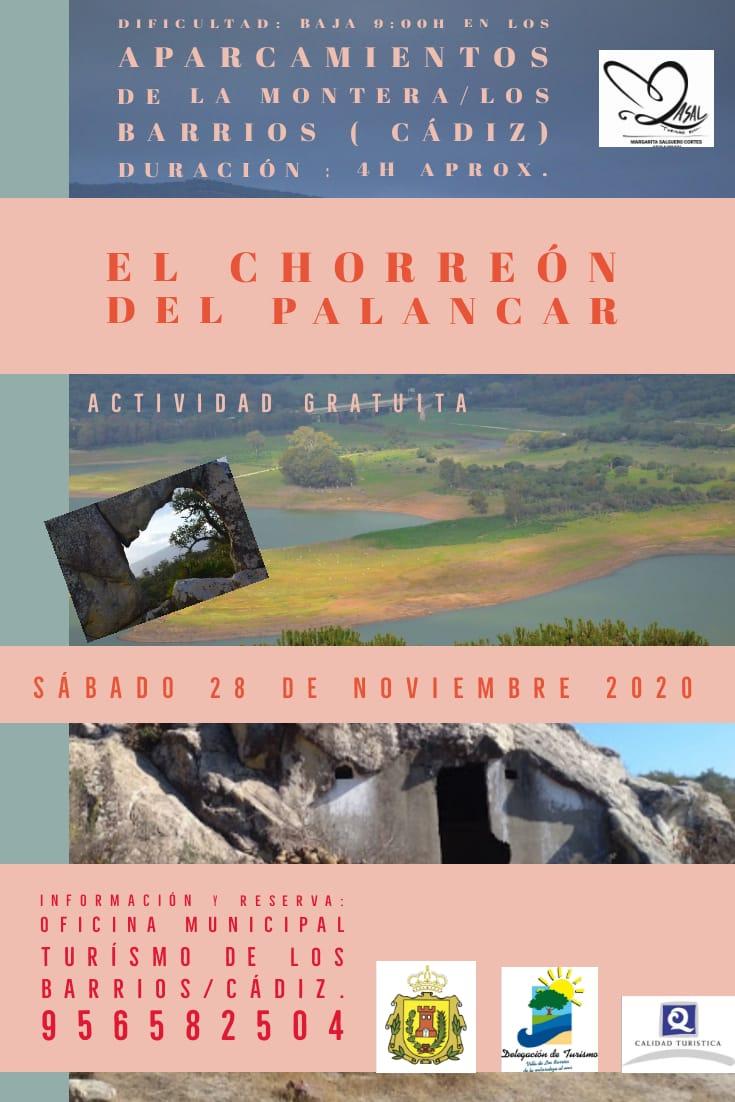 RUTA GRATUÍTA EL CHORREÓN DEL PALANCAR. 28 DE NOVIEMBRE