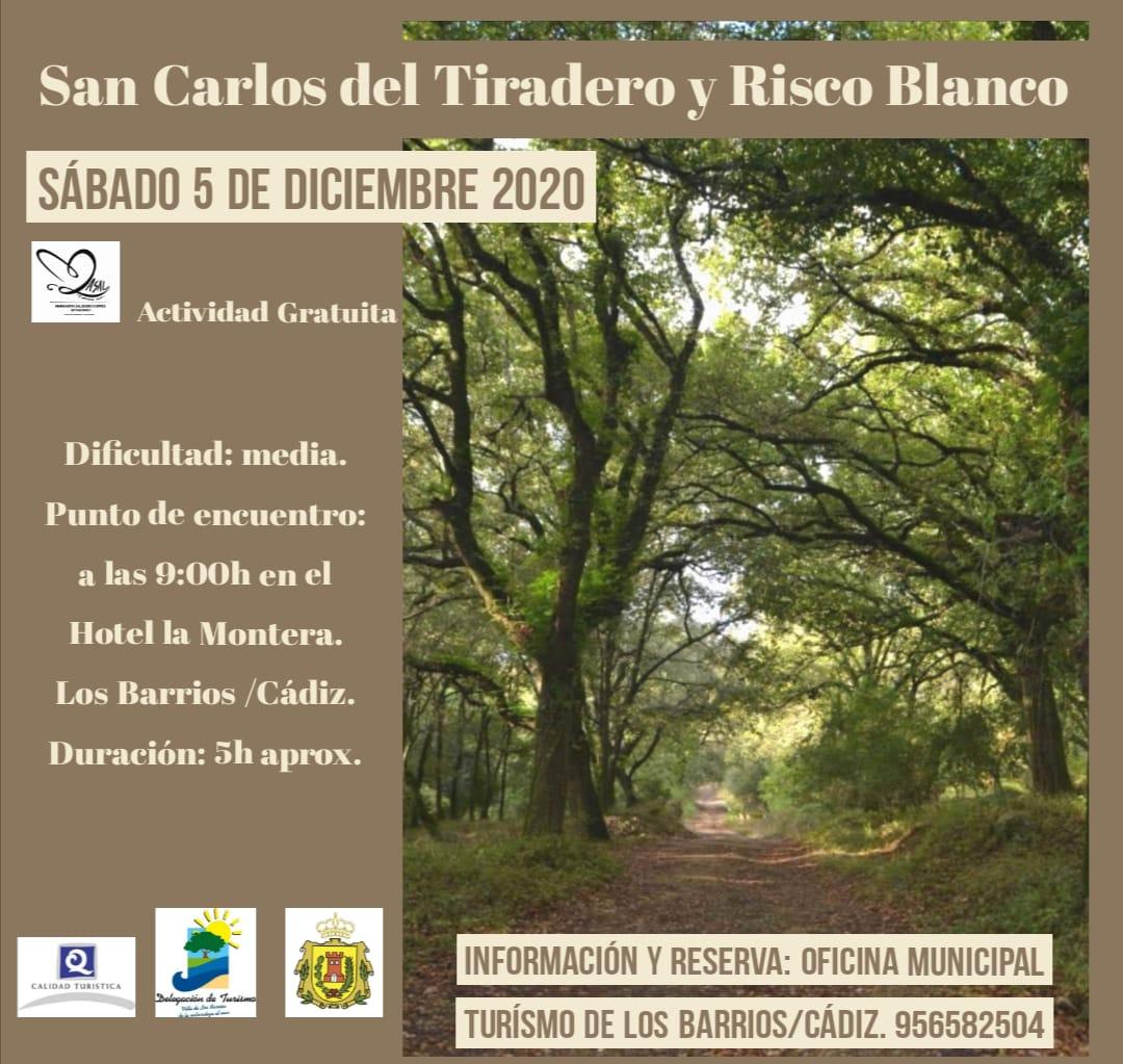 RUTA GRATUÍTA SAN CARLOS DEL TIRADERO-RISCO BLANCO. 5 DE DICIEMBRE